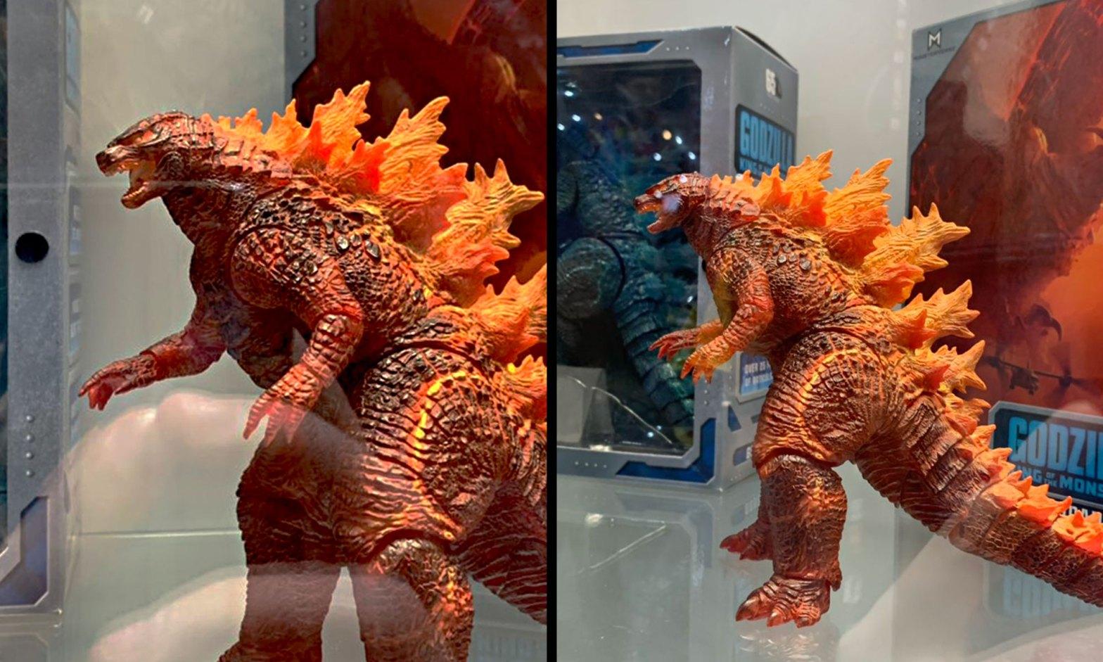 NECA 2019 Burning Godzilla Figure