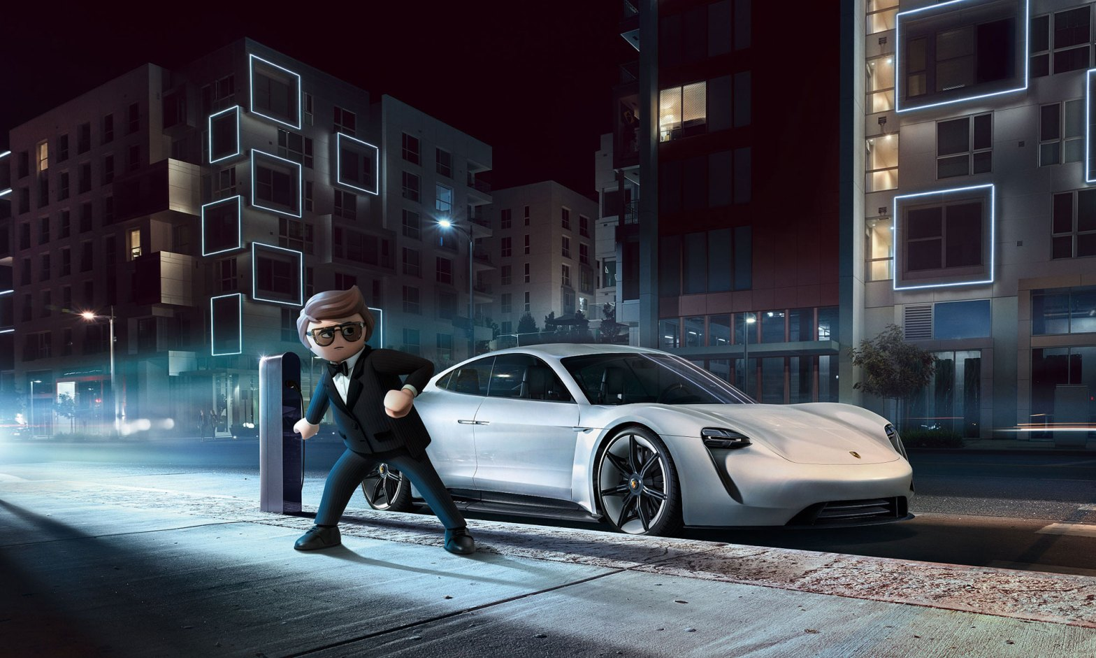 Playmobil: The Movie Porsche Mission E
