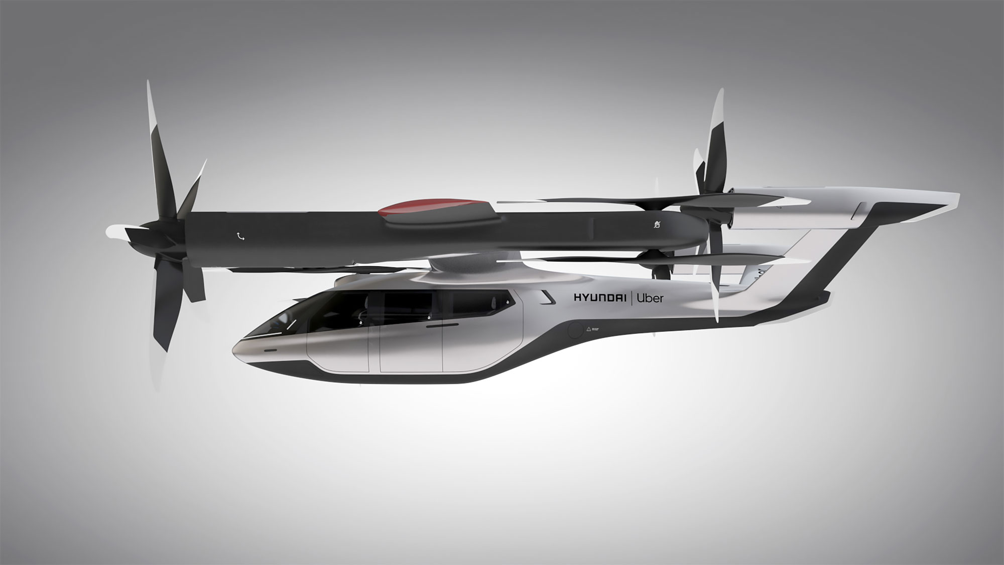 Hyundai S A1 Electric Vtol Flying Taxi For Uber Elevate