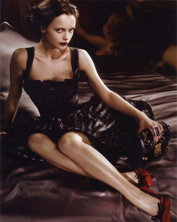 Christina Ricci per Louis Vuitton