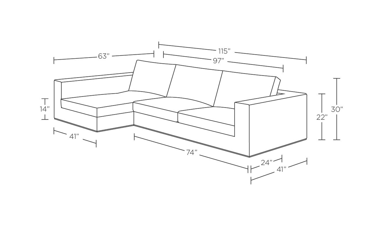 Walters Custom Sectional Sofa