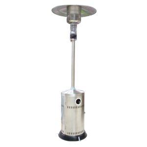 patio heater stainless steel w wheels