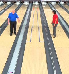 bowling lane board layout diagram [ 1280 x 720 Pixel ]