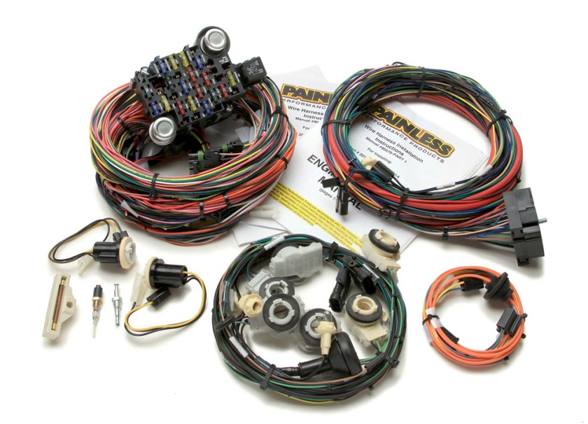 67 Mustang Wiring Harness Painless