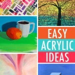 Easy Painting Ideas 6 Acrylic Subjects For Beginners