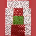 Quilted Christmas Mug Rug Pattern Free Tutorial