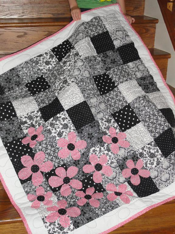 Black White Quilt : black, white, quilt, Beautiful, Black, White, Quilt, Patterns