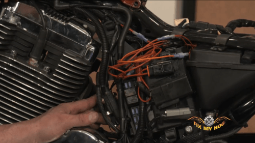 small resolution of harley wiring 101