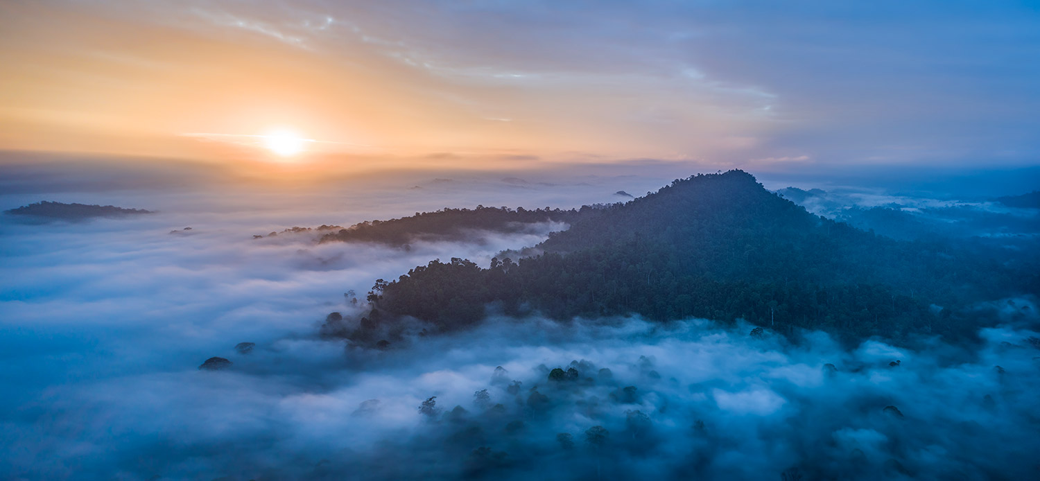 photography above the clouds