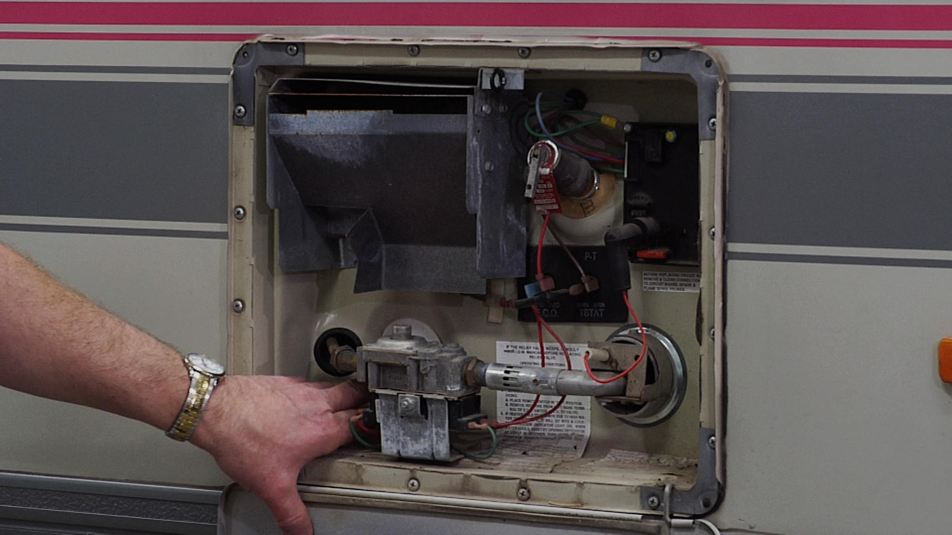 wiring diagram for motorhome automotive colour codes rv water heater overview and troubleshoot | repair club