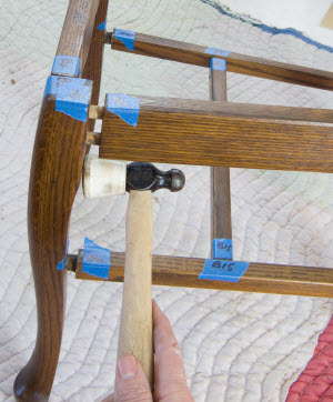 fixing wooden chairs rocking quad chair repair video tutorial learn how to a done right