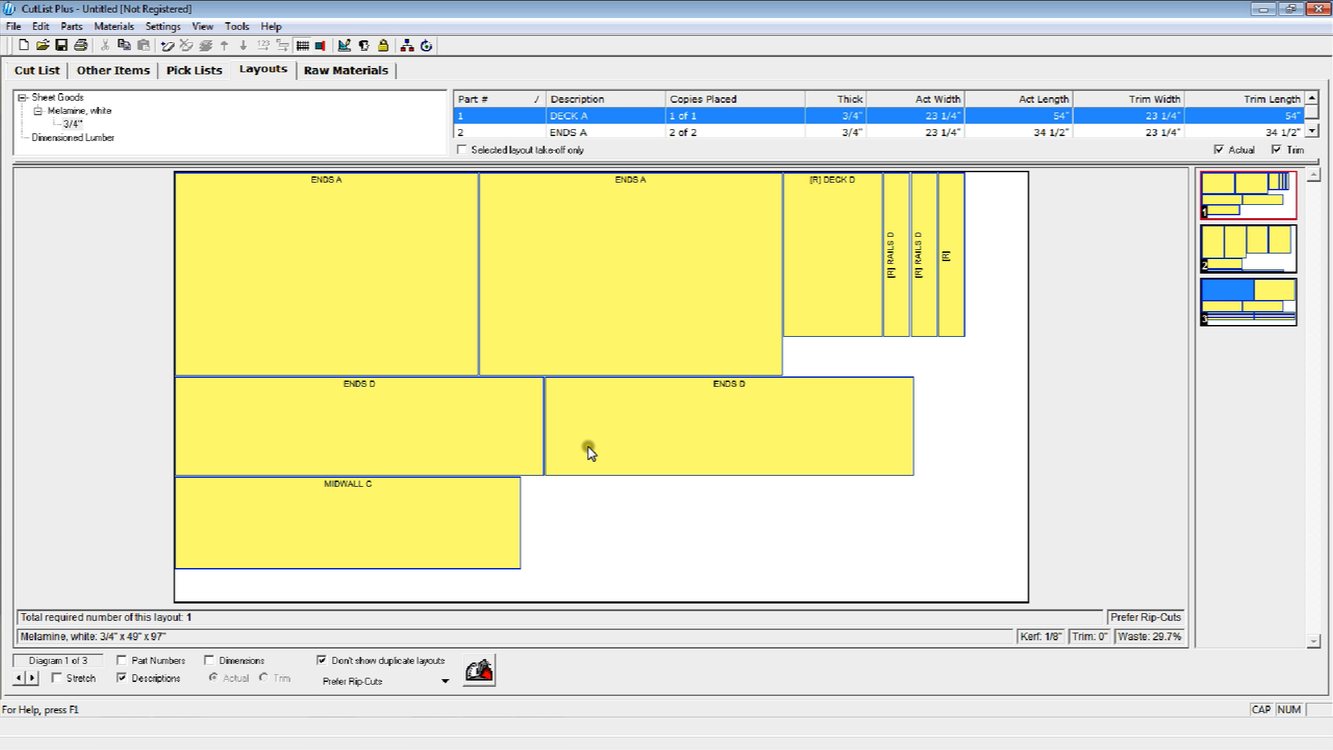 Using Woodworking Software For Project Layout