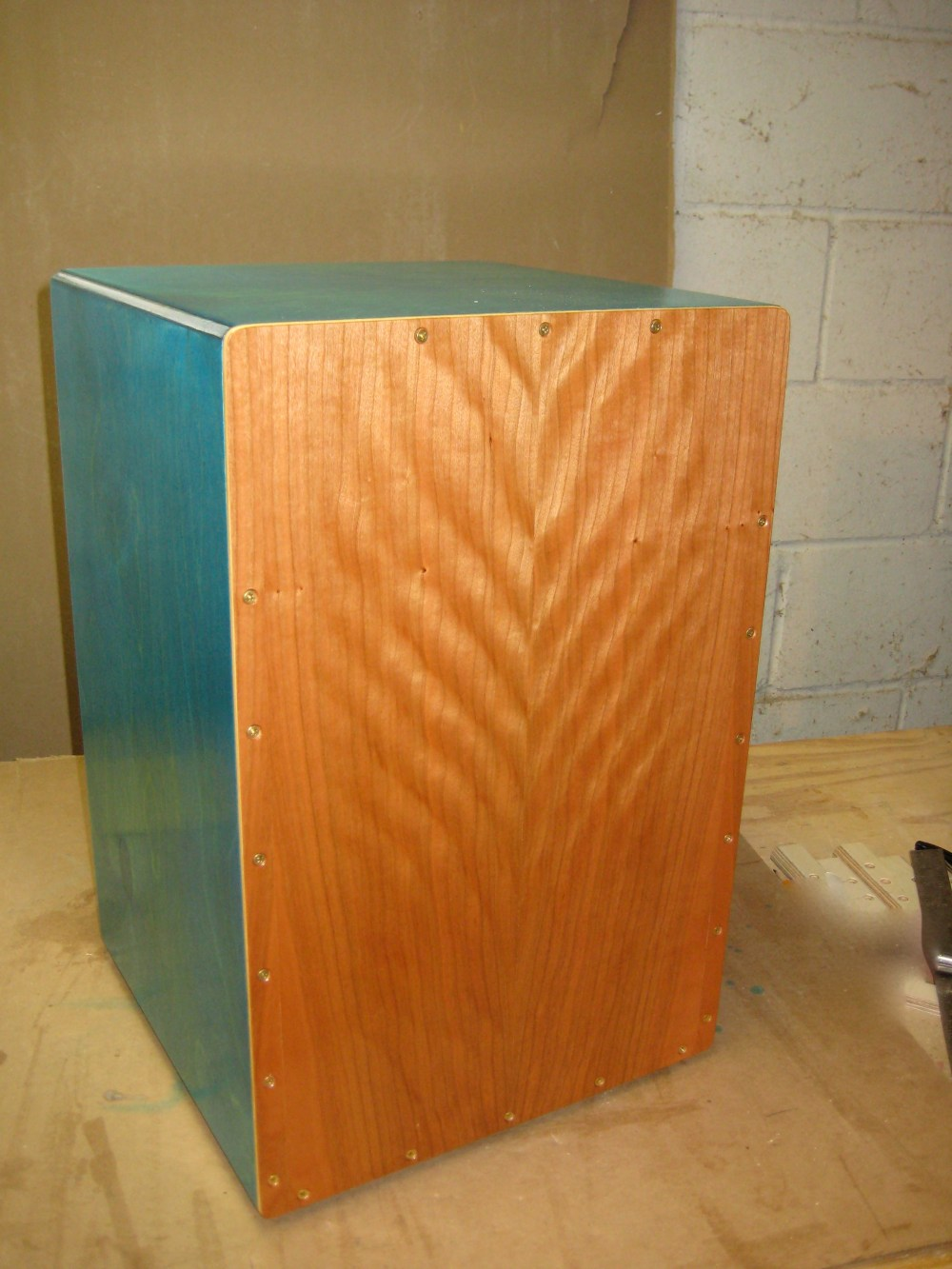 medium resolution of front drum small how to build a cajon drum