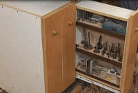 Drill Press Storage Cabinet Download | WoodWorkers Guild ...