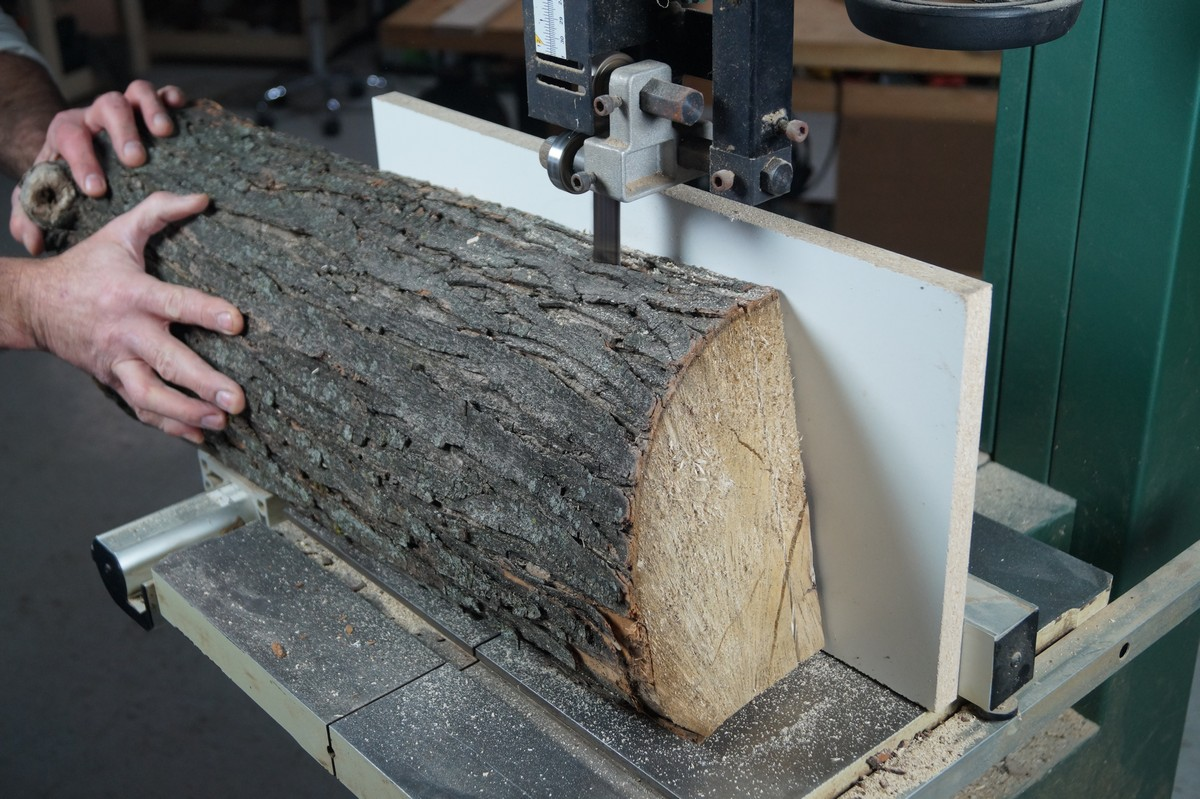 Resawing Wood On A Bandsaw