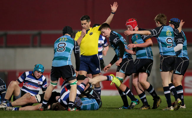 Munster Domestic Rugby Referees