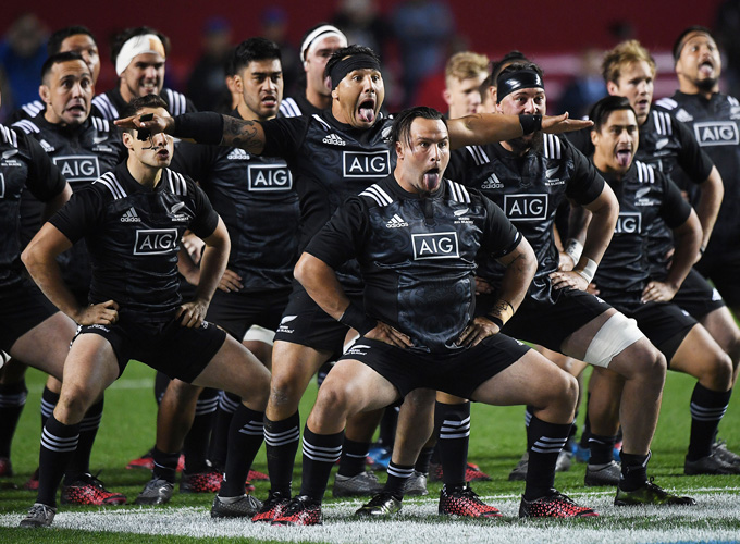 Munster Rugby  The Maori All Blacks Haka