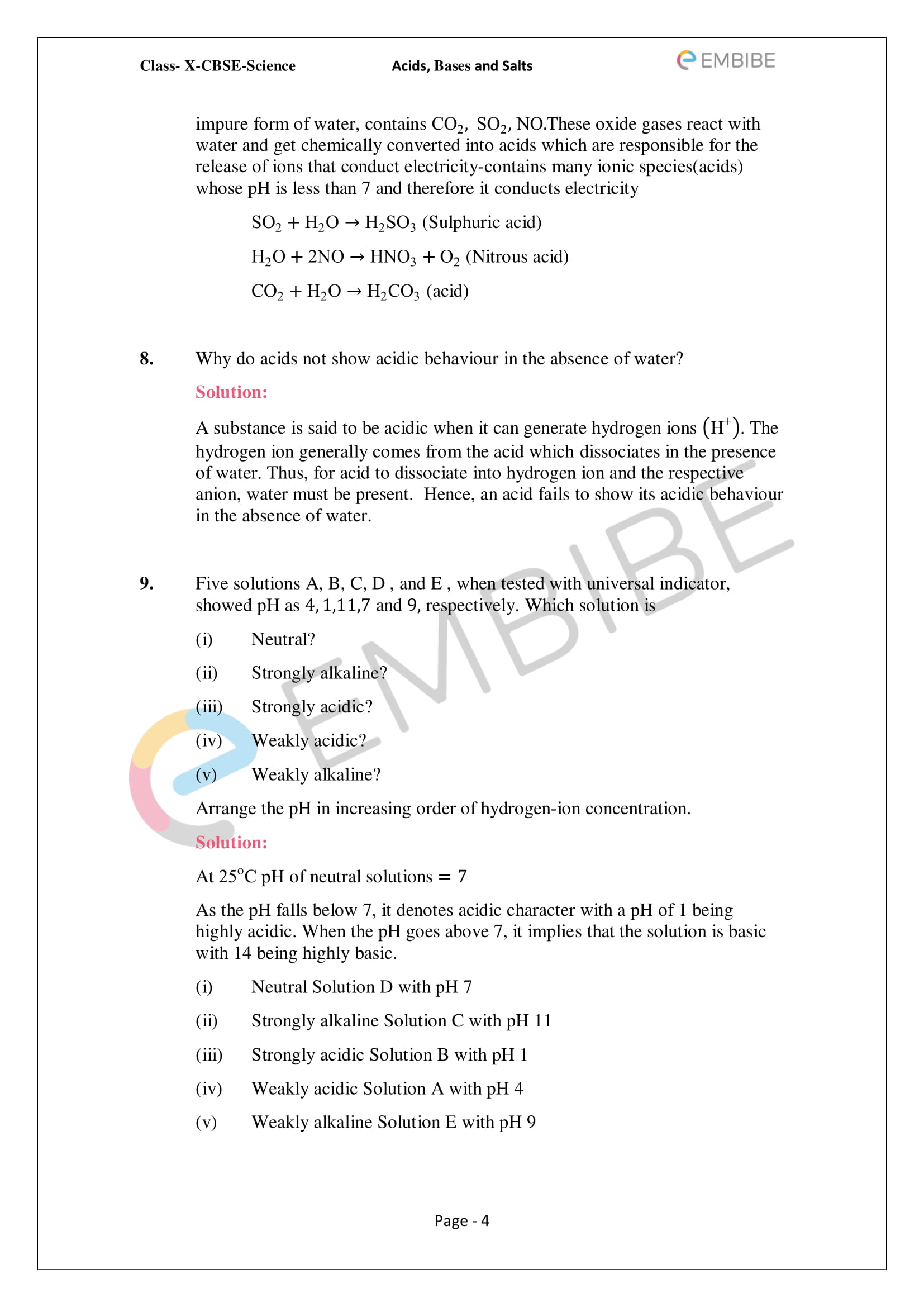 hight resolution of Acids Bases And Salts Worksheet Section 1   Printable Worksheets and  Activities for Teachers