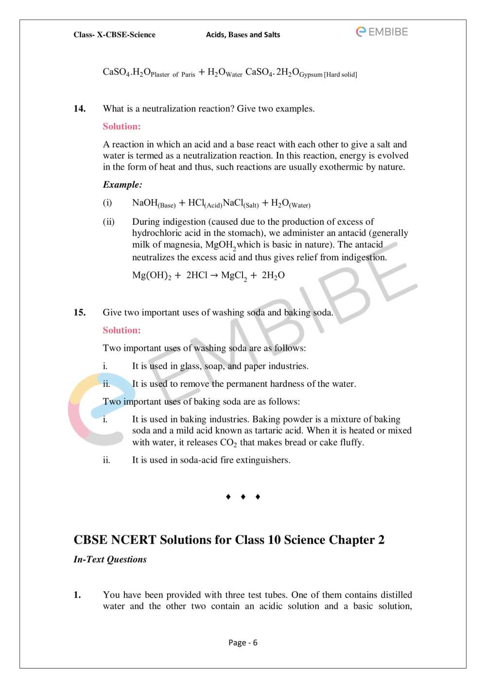 medium resolution of Acids Bases Salts Notes Worksheet   Printable Worksheets and Activities for  Teachers