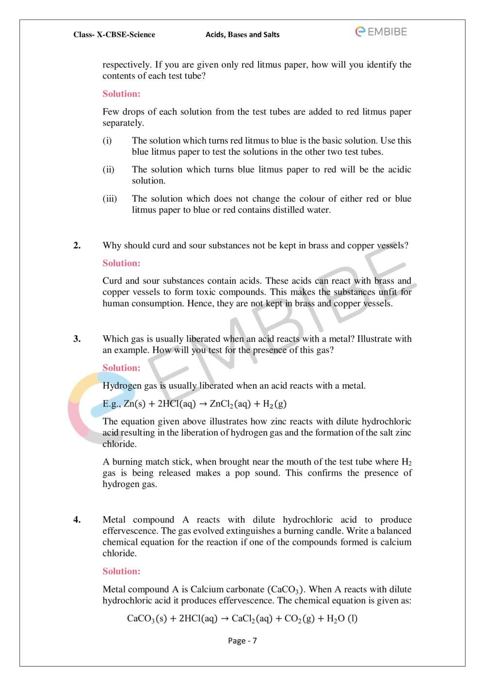 medium resolution of Acids Bases And Salts Worksheet Section 1   Printable Worksheets and  Activities for Teachers