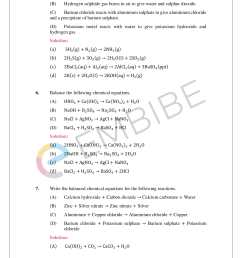 NCERT Solutions for Class 10 Science Chapter 1 PDF: Chemical Reactions \u0026  Equations [ 2200 x 1700 Pixel ]