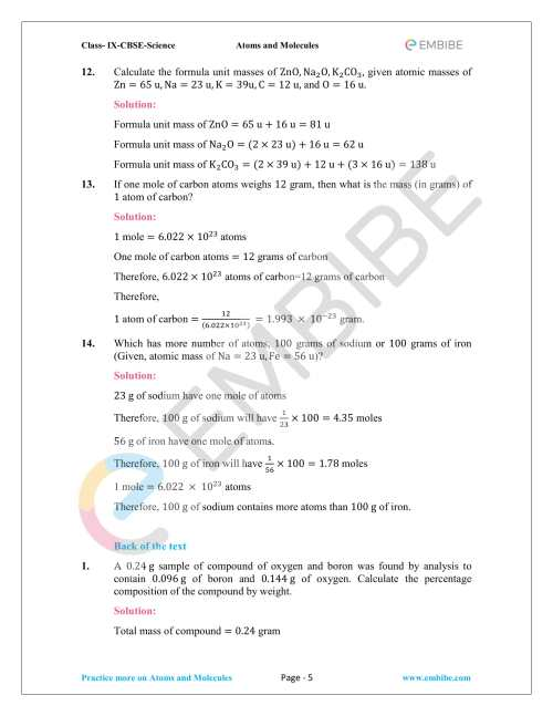 small resolution of NCERT Solutions For Class 9 Science Chapter 3: Download Atoms \u0026 Molecules  Solutions PDF