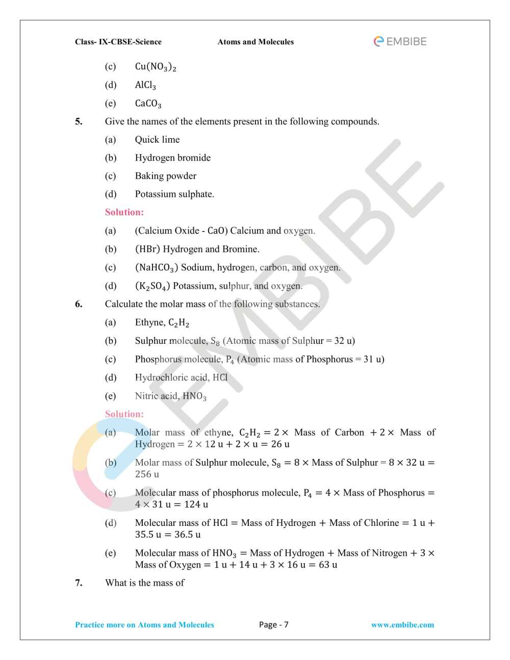medium resolution of Atoms Molecules And Ions Chapter 9 Worksheet   Printable Worksheets and  Activities for Teachers