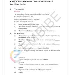 NCERT Solutions For Class 6 Science Chapter 9: Free PDF Download [ 2200 x 1700 Pixel ]