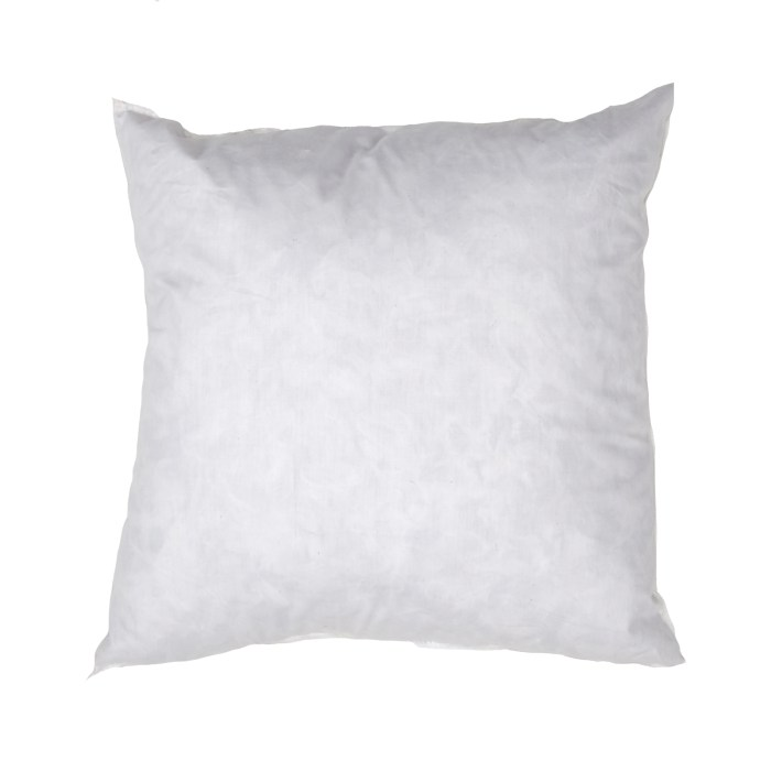 This pillow has 95% grey duck feathers & 5% duck down it has a 100% cotton protective cover and is washable. Add a little flair and comfort to your rooms with new pillows covered in beautiful fabrics and trimmed elegantly.