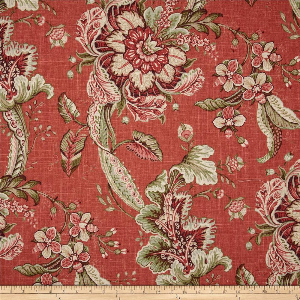 Duralee Home Clarence Melon Discount Designer Fabric