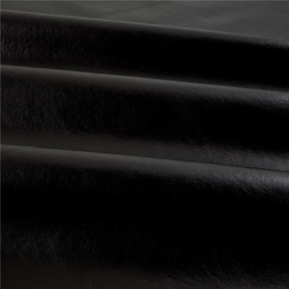 Faux Leather Buffalo Black  Discount Designer Fabric