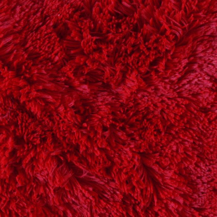 Shannon Minky Luxe Cuddle Shaggy Red  Discount Designer