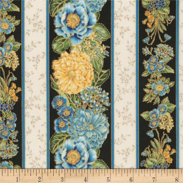 Robert Kaufman Avery Hill Blue - Designer Fabric