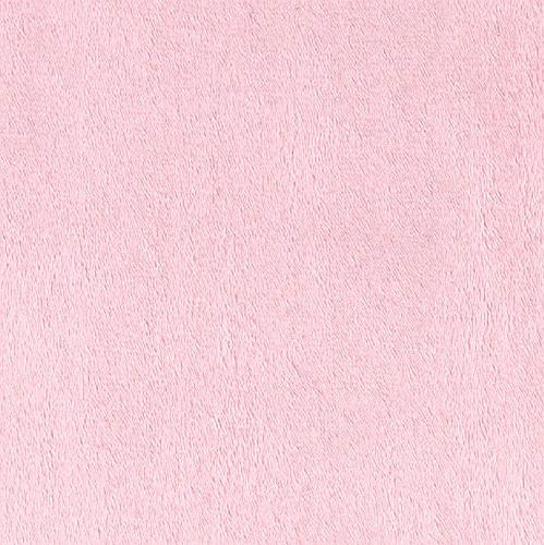 Shannon Minky Solid Cuddle 3 Baby Pink