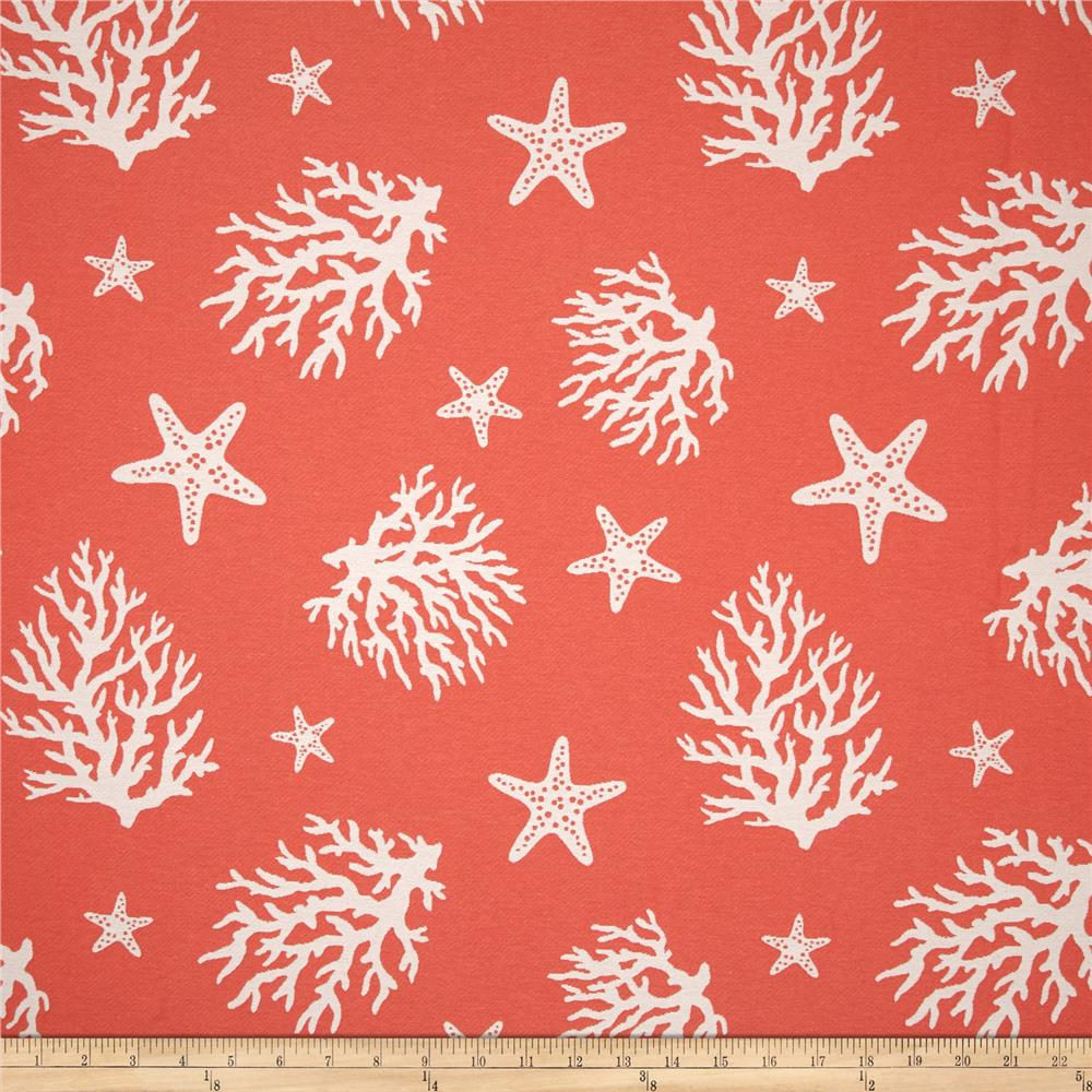 Waverly Coral Cove Coral  Discount Designer Fabric