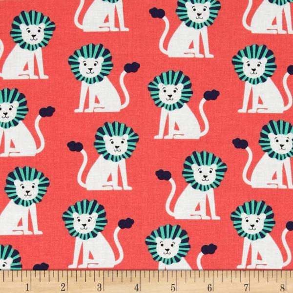 Michael Miller Coral Fabric