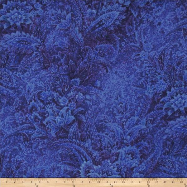Royal Blue Fabric Texture