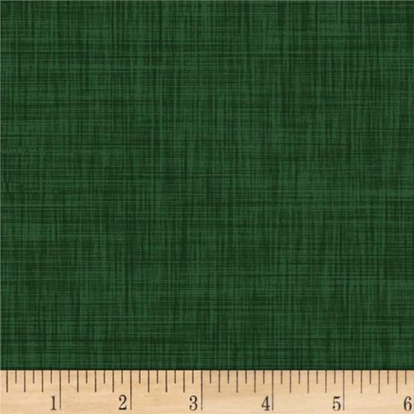 & Textiles Color Weave 4 Hunter Green