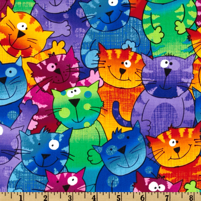 Dogs And Cats Fabric Dogs And Cats Dog Print Fabrics