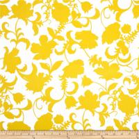 Black and White Gramercy Floral Yellow/White - Discount ...