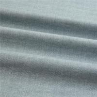 Linen Texture Grey Blue - Discount Designer Fabric ...