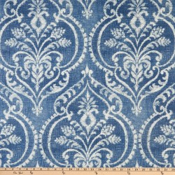 Swavelle/Mill Creek Dalusio Damask Denim Fabric