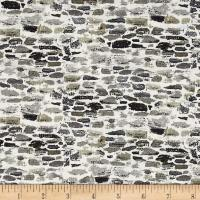 After The Snow Brick Wall Gray - Discount Designer Fabric ...