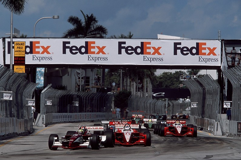 CART returned to the original location for two Champ Car races held in 2002  (pictured above) and '03, which had some elements in common with the IMSA  track, ...