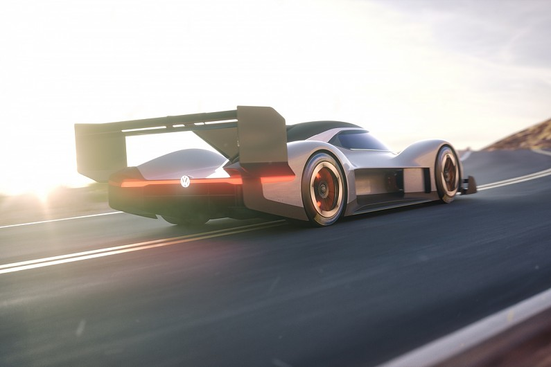 Beau The Caru0027s I.D. R Pikes Peak Identity Comes From VWu0027s I.D. Range Of Electric  Road Cars, Which It Plans To Roll Out In 2020, And The Input From Its ...
