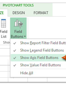 Doc pivotchart hide button also how to show or filed buttons in pivot chart excel rh extendoffice