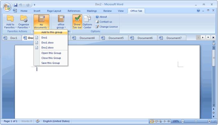 Office Tab Enterprise 13.10 Free Download
