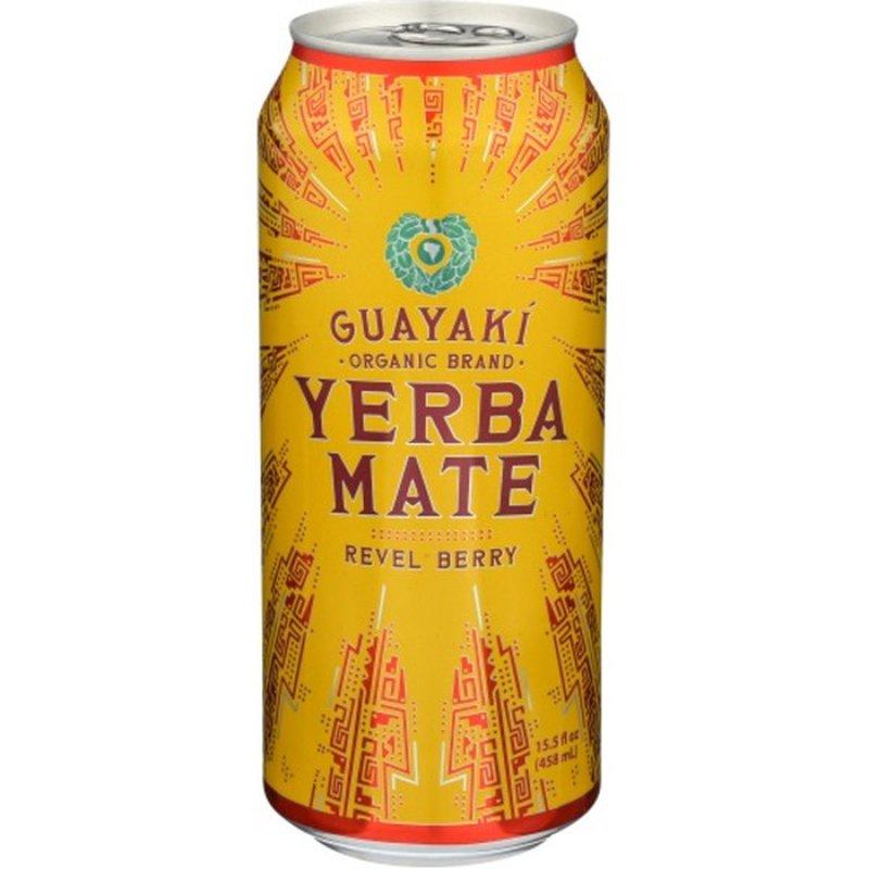 Guayaki Yerba Mate Revel Berry Organic (15.5 oz) from ...