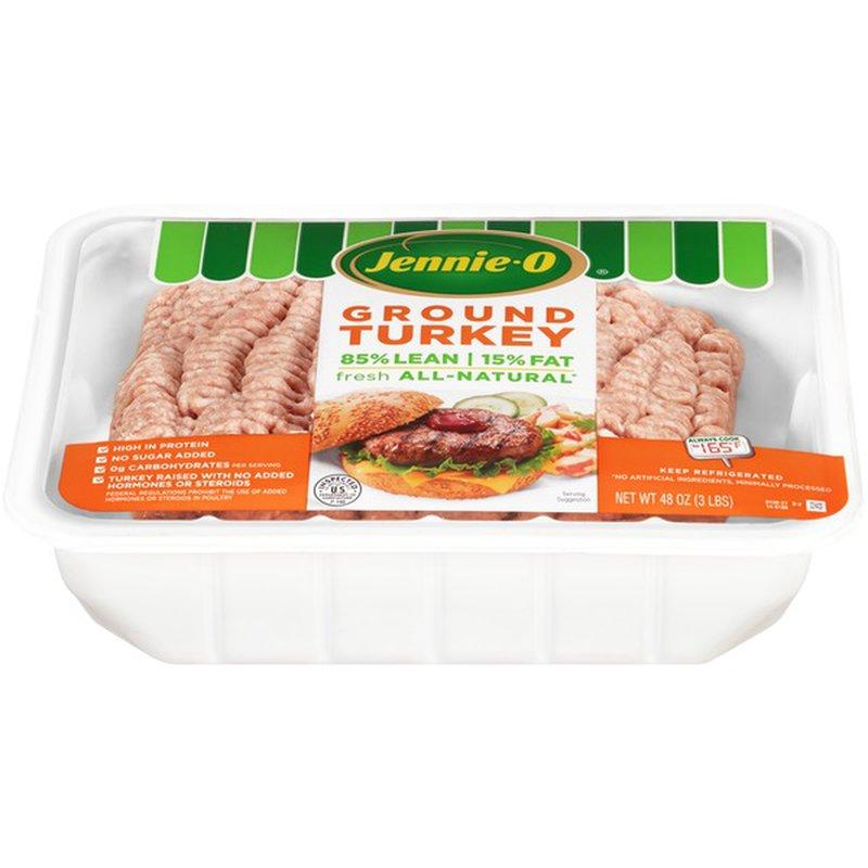 Jennie-O 85% Lean/15% Fat Ground Turkey (48 oz) from ...