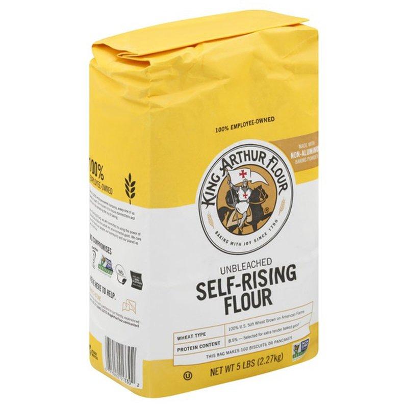 King Arthur Baking Self Rising Flour Unbleached (5 lb ...